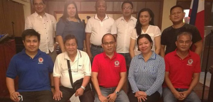 NPC inducts new officers of the DPWH Media Association, Inc.