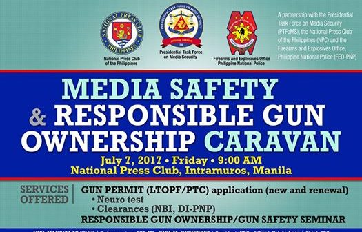 Media Safety and Responsible Gun Ownership Caravan