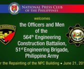Repainting of the NPC Building