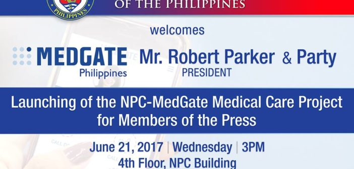 Launching of the NPC-MedGate Medical Care Project